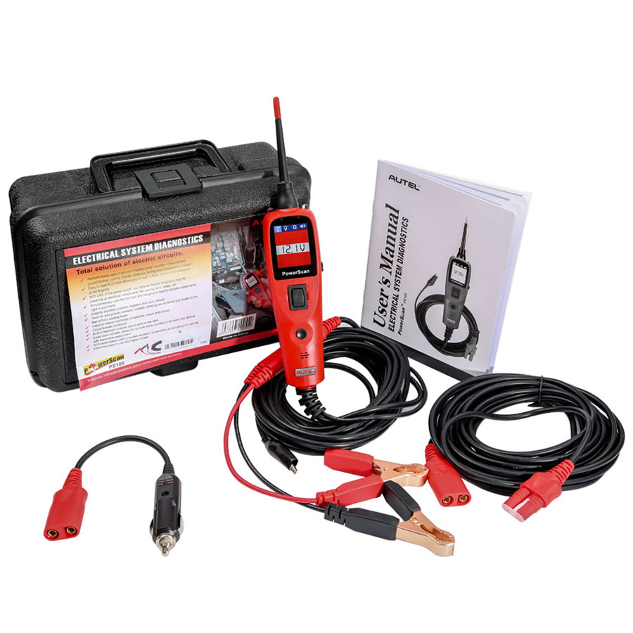 In Stock Autel Powerscan Ps100 Electrical System Diagnostic Tool Dpi 48v Charger Wiring Diagram Highly Reliable Circuit Tester Power Injection