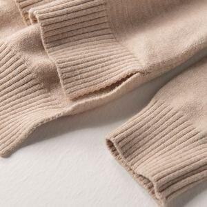 Image 5 - Suéter de cuello alto de alta calidad para mujer, Jersey de invierno, suéter de Cachemira, suéter de punto sólido, moda de otoño