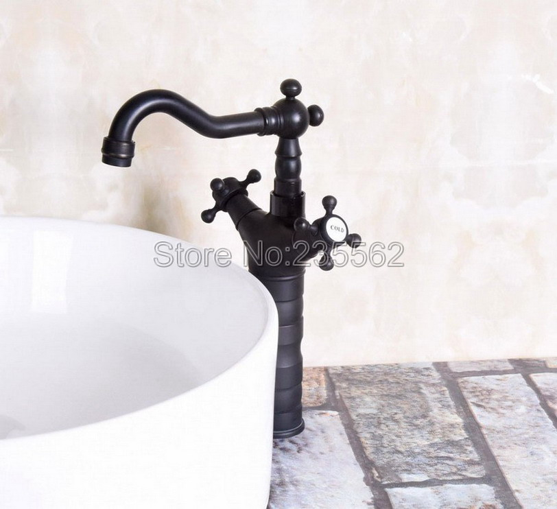 Wholesale And Retail Deck Mounted Single Hole Kitchen Sink Mixer Faucet Oil Rubbed Bronze Hot and Cold Water Mixer Tap lnf140Wholesale And Retail Deck Mounted Single Hole Kitchen Sink Mixer Faucet Oil Rubbed Bronze Hot and Cold Water Mixer Tap lnf140