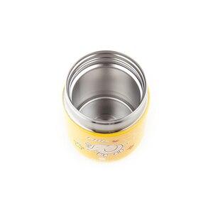 Image 4 - Santeco מזון תרמוס לילדים נירוסטה קריקטורה מזון צנצנת בקבוק תרמוס בית ספר משרד בחוץ פיקניק 280ml