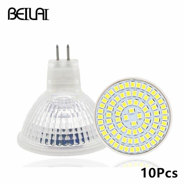 BEIYUN 10 Stks 2835 MR16 Hittebestendige Glas Lampada de Lamp ...