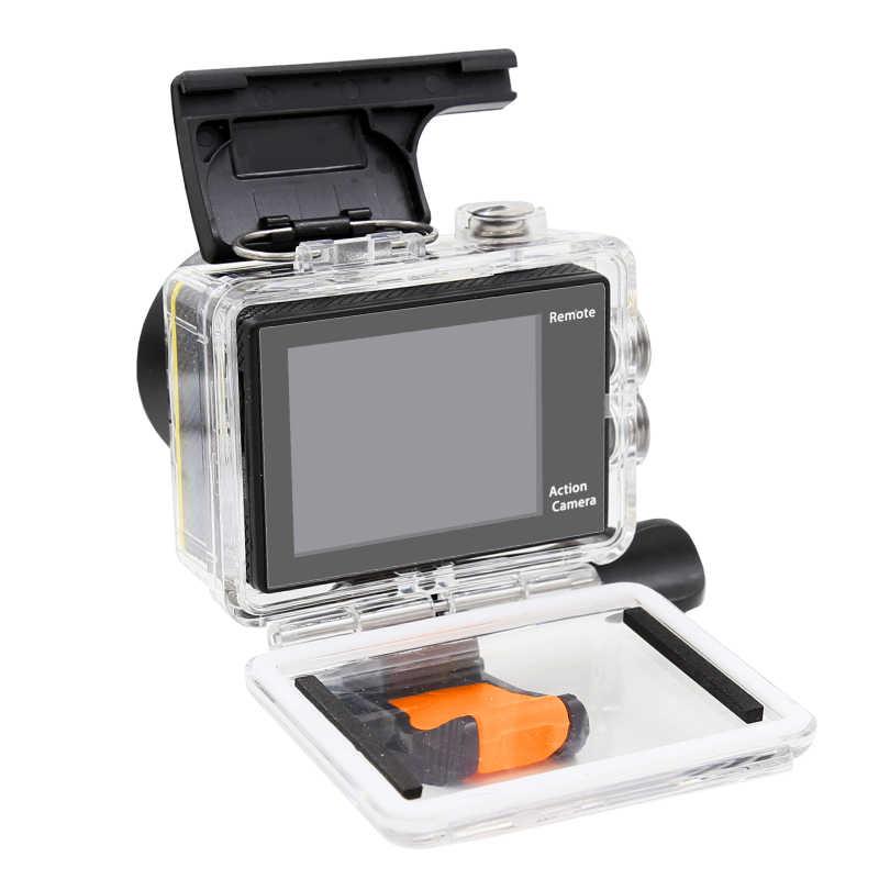 Оригинал екеn H9/H9R экшн Камера 4 K со сверхвысоким разрешением Ultra HD, 1080 p/60fps мини-камера на шлем Cam WiFi go Водонепроницаемый pro Sport Камера hero 7 yi 4 k