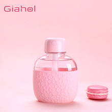GIAHOL 200ml Mini Portable Intelligent Kettle Air Humidifier USB with LED Warm Light Ultra Quiet Water Mist Diffuser car home