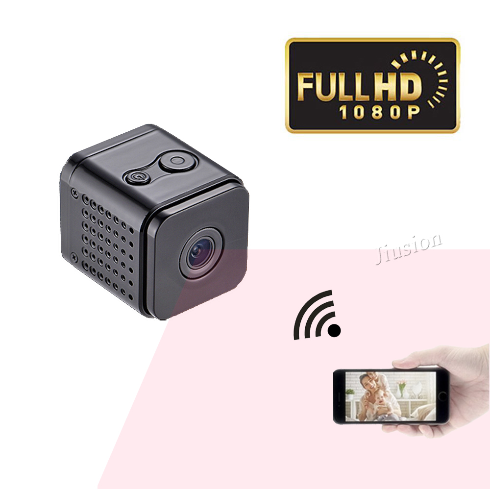 лучшая цена Mini Wifi IP Camera Night Vision HD 1080P Mini Camcorder Motion detection Video Voice Recording Mini DV 120 Wide Angle Degrees
