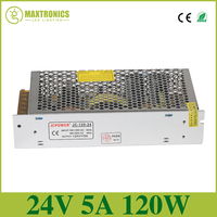 High Quality DC 24V 5A Universal Regulated Switching Power Supply Output 120W Voltage Transformer For CCTV