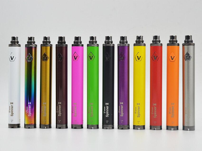 Top Qualità Vision2 Batteria Sigaretta Elettronica 1600 mah 3.3 ~ 4.8 v Visione II eGo Batterie Torsione per Sigarette e ego Atomizzatori