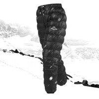 Naturehike уличные пуховые брюки непромокаемая одежда для мужчин и женщин Альпинизм Кемпинг теплые зимние белые гусиные пуховые брюки Новая акц