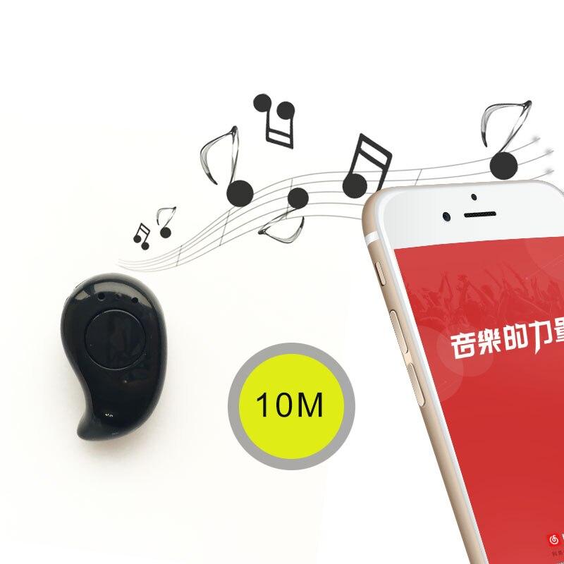 Stereo Mini S530 Bluetooth Earphone Wireless Headphone Headset Earbud Microphone Universal For Xiaomi Samsung Blueooth Earphone
