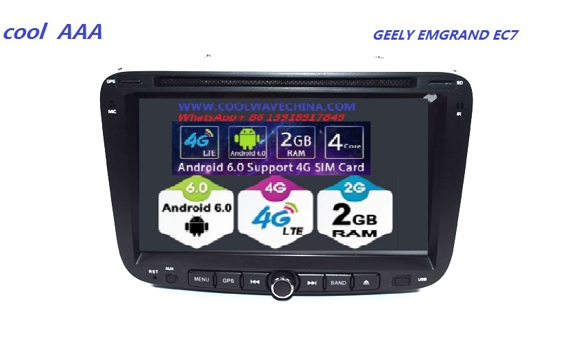 Gps Emgrand-Accessories Dvd-Radio Bluetooth Car-Android-8.1 for GEELY EC7 with 3G 4G