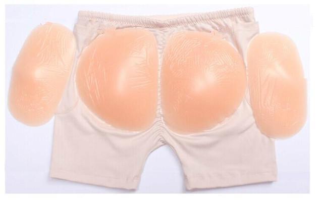 Sillicon Bum Enhancers Buttock Hip lifter Shaper Removable Pads