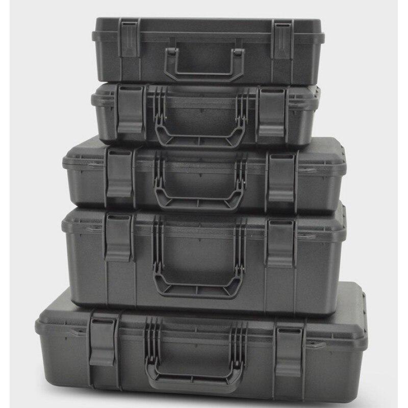 Защитный защитный ящик для инструментов, коробка для оборудования, чехол, ударопрочный чехол для инструмента, противоударный пластиковый г...