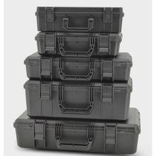 Beschermende Veiligheid Toolbox Apparatuur Doos Koffer Slagvast Instrument Case Shockproof Plastic Verzegelde Gereedschapskist Met Spons