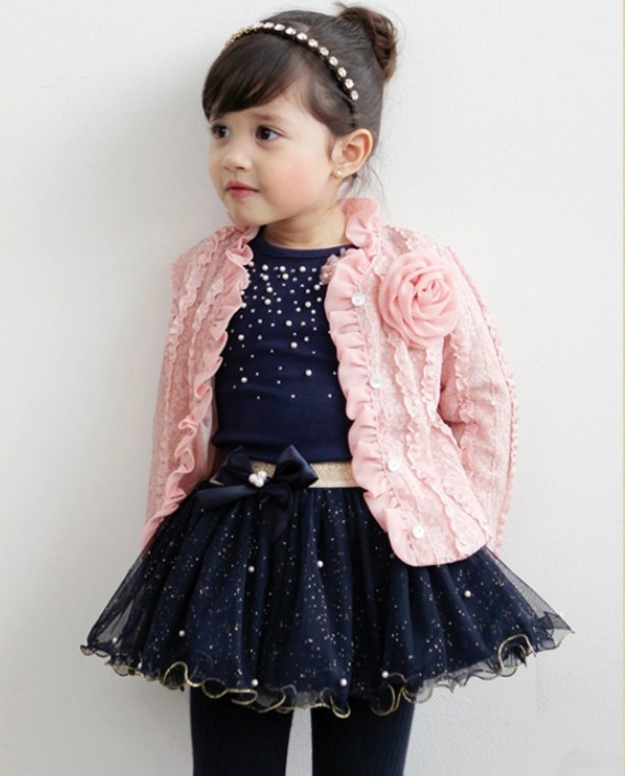 Girls-Fashion-Coat-Jacket-Long-Sleeve-T-Shirt-Plus-Skirt-3pcs-Set-Childrens-Cardigan-Pearl-Sequin-Puff-Pink-Flower-Tutu-Suits-1