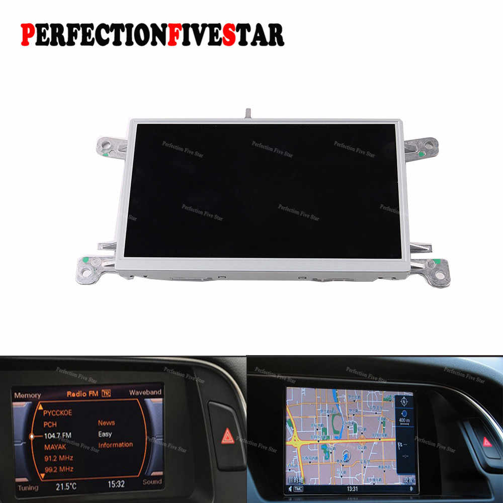 "8T0919603G E F untuk Audi A4 B8 A5 Q5 2010 2012 2015 MMI Multi Media Display Unit 6.5 ""LCD layar GPS NAV Monitor 8T0 919 603 E"