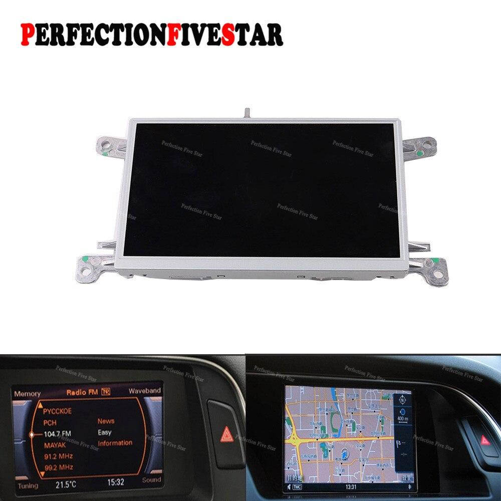8T0919603G E F Para Audi A4 B8 A5 Q5 2010 2012 2015 Unidade MMI Multi Media Display LCD de 6.5