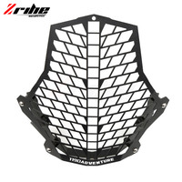 Motorcycle Accessories Aluminium Motorcycle Headlight Protector Cover Grill For Ktm 1190 Adventure 1190R 1290 Super Adventure
