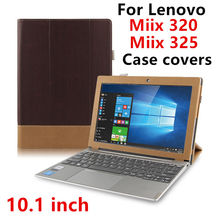 Case For Lenovo Miix 320 Protective Smart Cover Leather Tablet For Idea MIIX320 325 miix 325 320 Cases 10.1″ PU Protector Sleeve