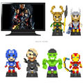 loz iblock fun diamond blocks series  building blocks juguetes toy captain america& hulk& niky fury& iron man& loki &thor