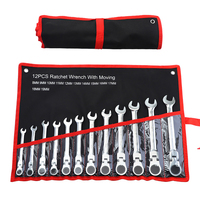 12Pcs Car Repair Set Wrenches Keys Set Wrenches Key Spanners Woodworking Machinery Wrench Sets Hand Tools