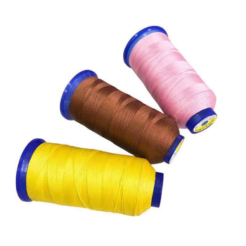 9 strands หนาความทนทานสูงด้ายไนลอน 100% เย็บด้ายตกแต่งอุปกรณ์เสริม DIY Handwork จักรเย็บผ้า