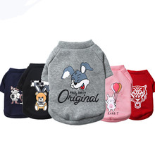 Fashion Cartoon Printed Pet Cat Vest Cat Clothes Small Dog Puppy Shirt in Spring and Summer Cheap Pet Apparel