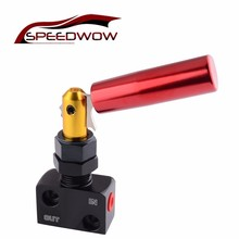 SPEEDWOW Автомобильная регулируемая опора рычаг пропорции клапан регулятор давления красный с черным тормозным регулятором смещения аксессуары для интерьера