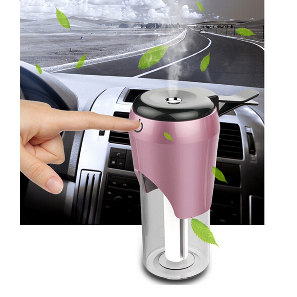 USB Powered Mini Car Air Humidifier Air Freshener Portable Mist Maker Support Car Charger Car Electronics Car-styling