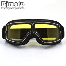 New Vintage style Harley Motorcycle goggles Windproof Glasses for motocross Cycling Moto Sport Glasses Aviator Pilot Cruiser