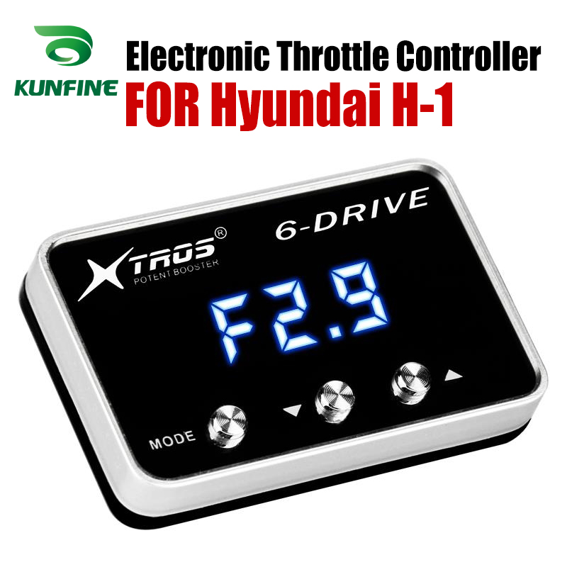 Car Electronic Throttle Controller Racing Accelerator Potent Booster For Hyundai H-1 Tuning Parts AccessoryCar Electronic Throttle Controller Racing Accelerator Potent Booster For Hyundai H-1 Tuning Parts Accessory