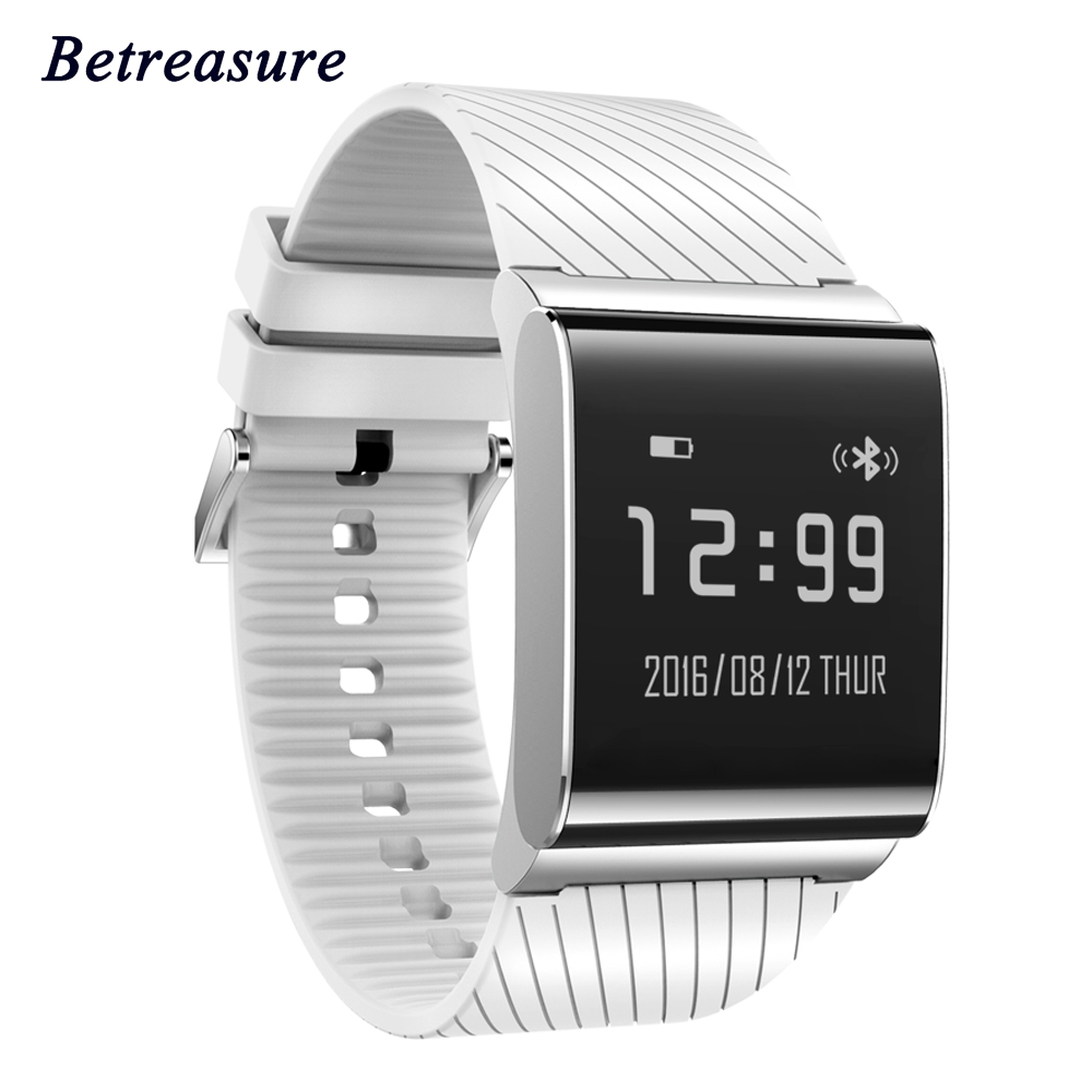 Betreasure Blood pressure X9Plus Smart Wristband Waterproof Smart Bracelet Heart Rate Monitor Smart band for android