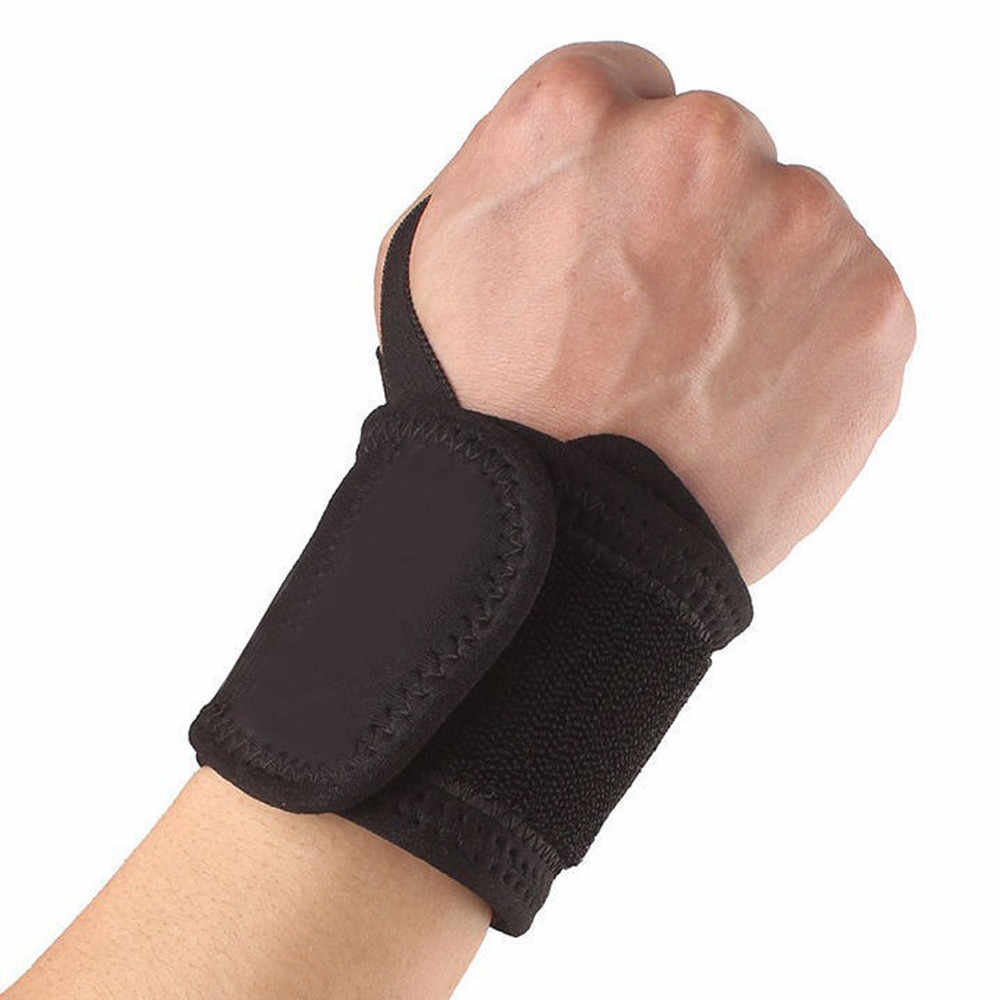 35 #1 pc banda de pulso guarda cinta suporte túnel carpal entorses strain gym cinta esportes alívio da dor envoltório bandagem lightweighted