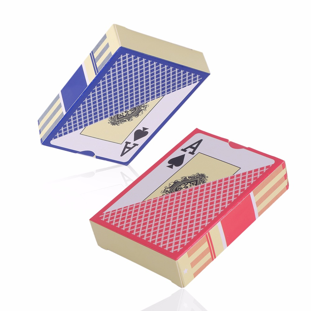 Waterproof Durable PVC Scrub Type Plastic Playing Cards Novelty Poker Card Pokerstar Board Game For Texas Game