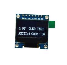 """1 шт. Белый 3-5 В 0.96 """"SPI серийный 128×64 oled ЖК-дисплей LED Дисплей модуль"""