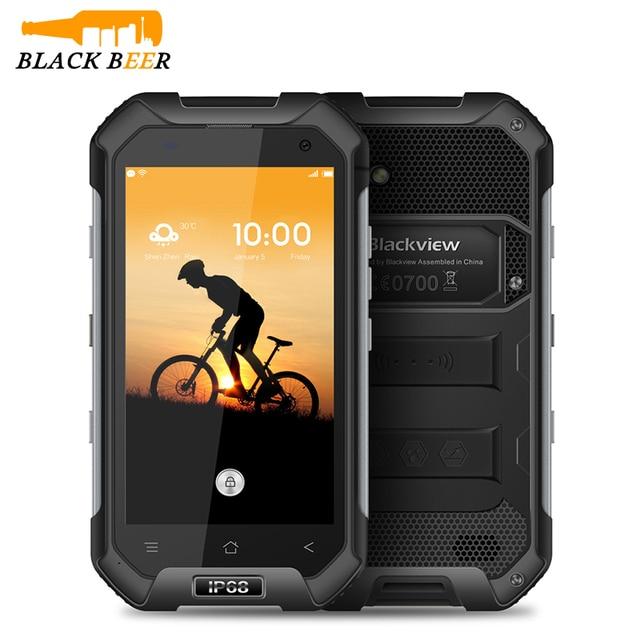 "Originele Blackview BV6000 4G LTE Octa Core IP68 Waterdichte Smartphone 4.7 ""3 GB + 32GB NFC 4500mAh Android 6.0 Mobiele Telefoon"