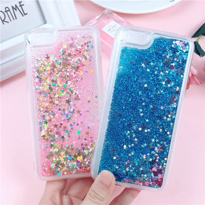 Huawei Honor 7A Case 5 45 quot Glitter Case on for Fundas Huawei Honor7A DUA L22 Russian Version Cover Liquid Soft TPU Phone Cases in Fitted Cases from Cellphones amp Telecommunications