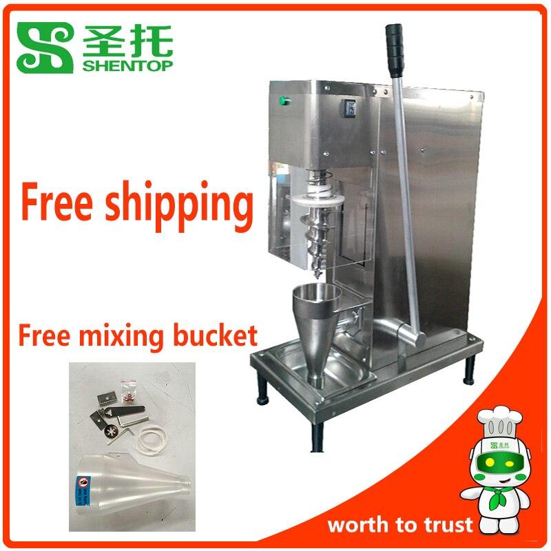 Freies Verschiffen Gefrorenen Joghurt Mischmaschine Reichen Geschmack Joghurt Mixer Maschine