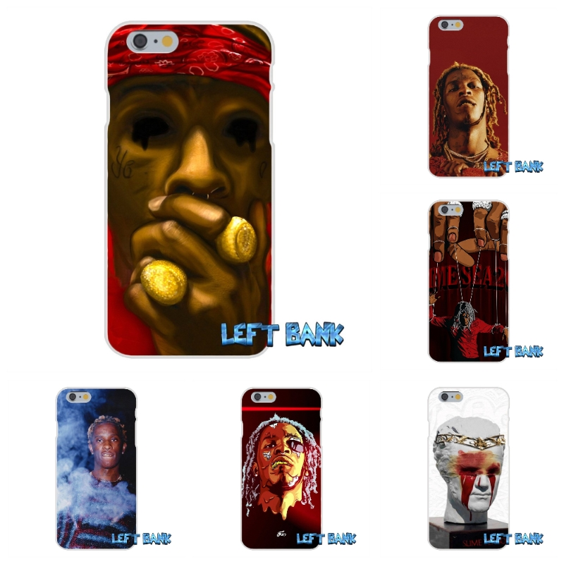 Young Thug - Slime Season Soft Silicone TPU Transparent Cover Case For Samsung Galaxy Note 3 4 5 S4 S5 MINI S6 S7 edge