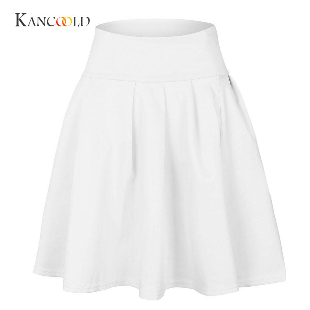 6c6e503494e KANCOOLD women s Skirts girl Womens sexy Skirts Party Cocktail Mini Skirt  Ladies Summer Skater Skirt Solid MAR2-in Skirts from Women s Clothing on ...