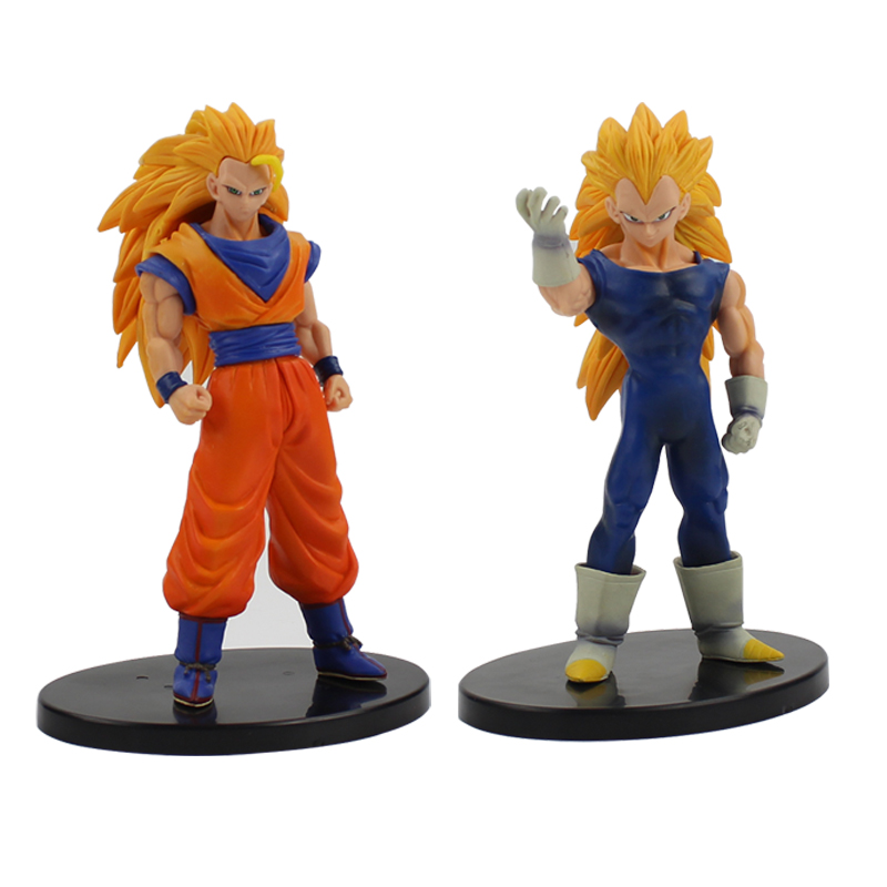 Dragon Ball Z Figure Toy Son Goku Vegeta Super Saiyan 3 Cool Action Figure DXF Collectible Model Toy