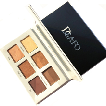 DGAFO Cosmetics 6 COLOR Eye Shadow Palette Maquillage Naked Makeup Eyeshadow Set Matte Bronzer Make Up Pallete недорого