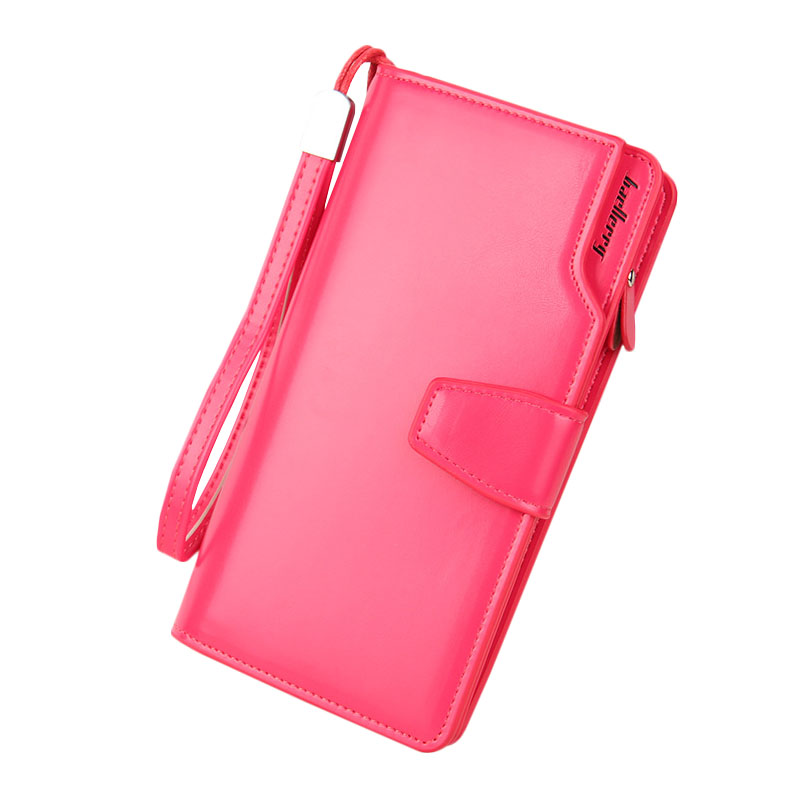 2016 Genuine Leather Women Clutch Wallets Famous Brand Candy Color Cell Phone Handbag Card Holder Lady Multifunction Long Purse 2016 famous brand women clutch wallets top leather long coin purses lady card holder candy color hasp zipper girls phone handbag