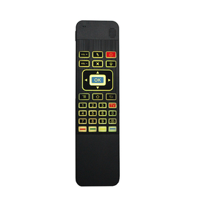 Image 5 - T3 6 Assige Gyro Air Mouse 2.4G Draadloze 7 Kleur Backlit Smart Afstandsbediening Met Toetsenbord Voor Windows x96 H96 Pro Android Tv Box