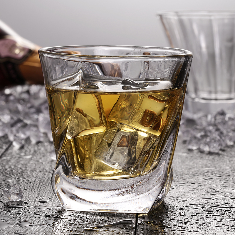 Lead-Free High Capacity Whisky Glasses For Wedding Party Home Bar Hotel Restaurant Office Decoration