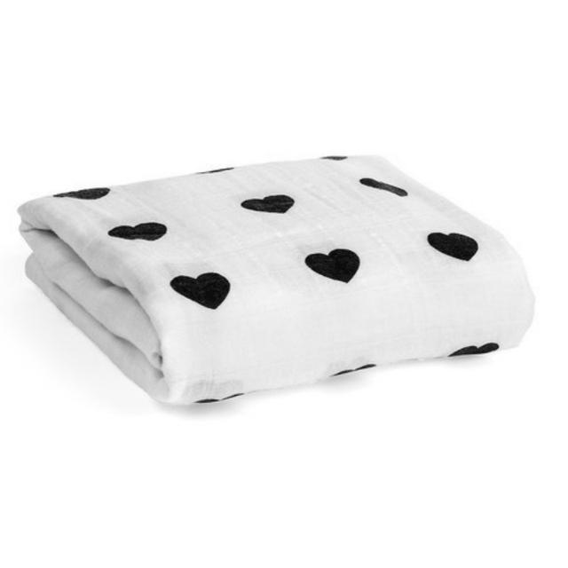 Bebê recém-nascido Swaddle Cobertor Coração Ice Cream Patten deken inbakeren aden anais cobertor do bebê menino menina envelopes para recém-nascidos