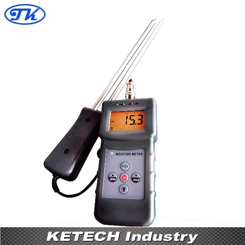 Digital Sawdust Bamboo Powder Moisture Meter Tester MS-W ms c 4 90% digital textile moisture meter