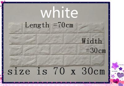 PCV 3D salon mur ceglany wzór tapety stickie dormitorium sypialnia retro wzór tapety adhesive392-F cegły 12