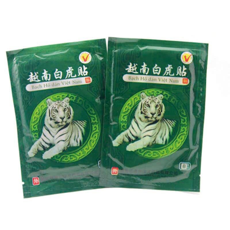 16 Pcs/2Bags Vietnam White Tiger Balm Pain Relief Plaster Meridians Rheumatoid Arthritis Lumbar Spondylosis Relieving