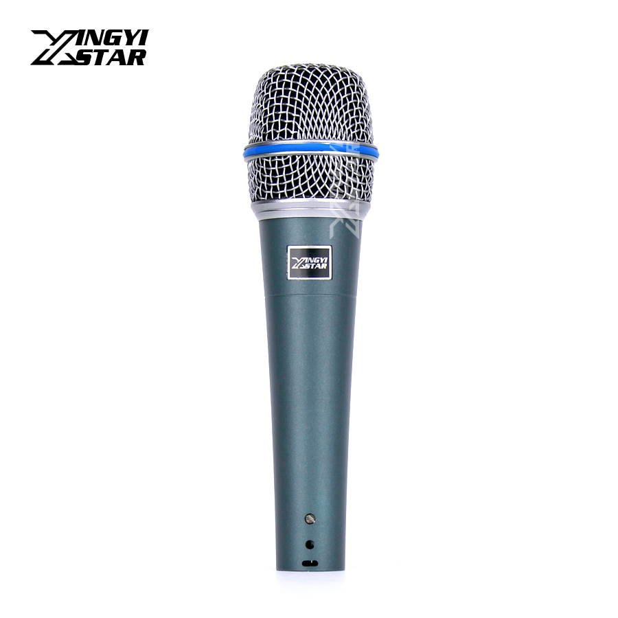 beta57a professional handheld mic cardioid vocal dynamic microphone system mike for karaoke. Black Bedroom Furniture Sets. Home Design Ideas