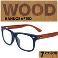 Prescripción óptica marcos de las lentes hombres mujeres gafas de marco de madera de madera puntos tonos occhiali masculino feminino