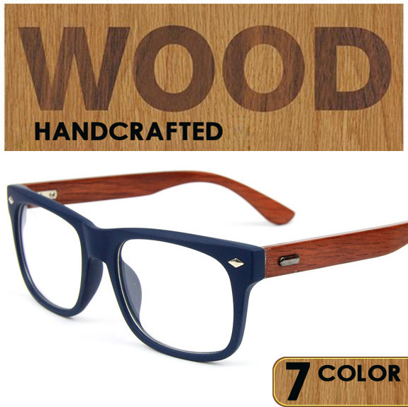 b2e1e10db1f Wooden optical eyeglasses frames men women wood glasses frame prescription  shades points occhiali masculino feminino-in Eyewear Frames from Men s  Clothing   ...